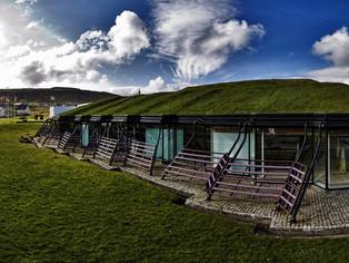 Stroymað pallborðskjak í Norðurlandahúsinum