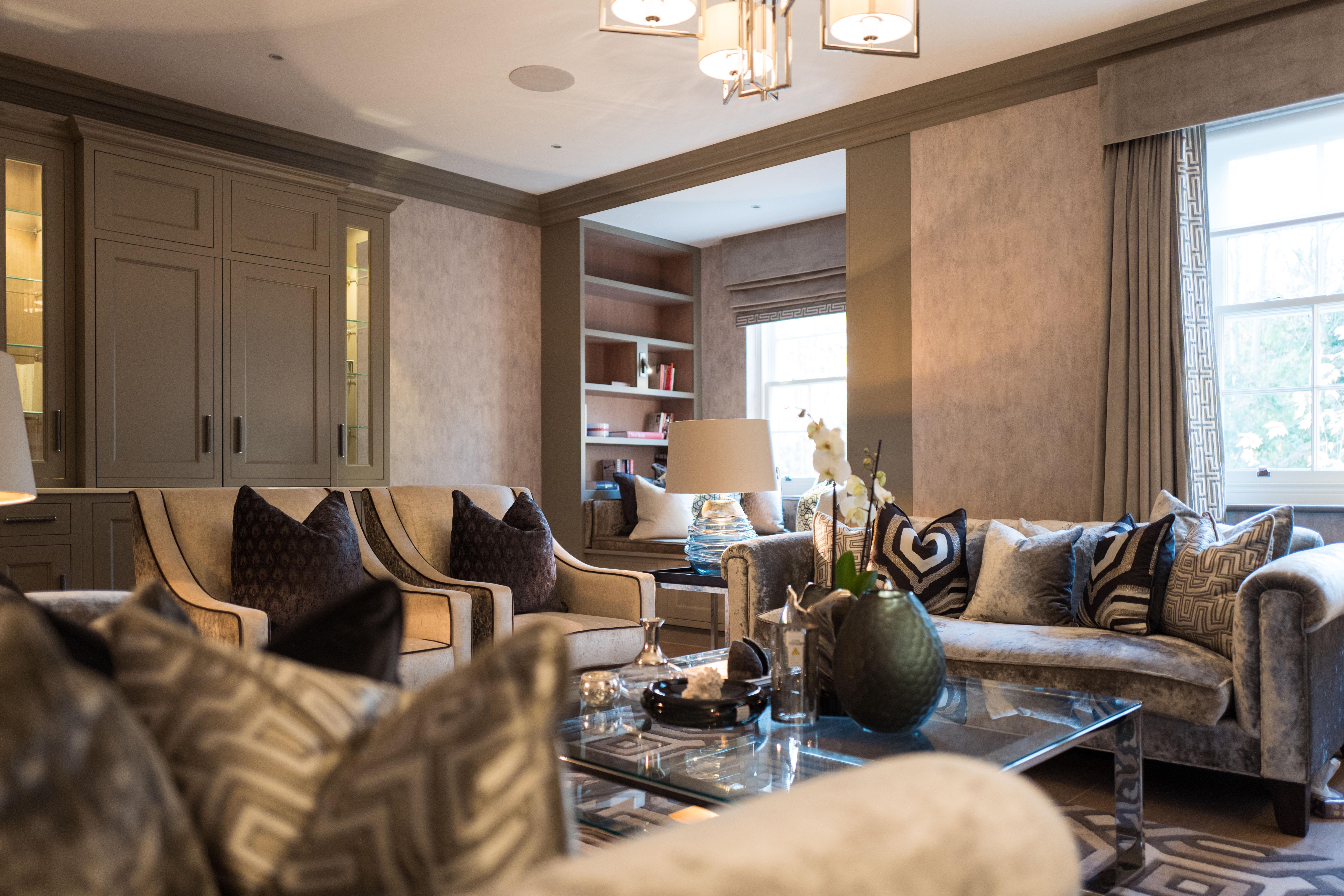 West London interior design living room 1