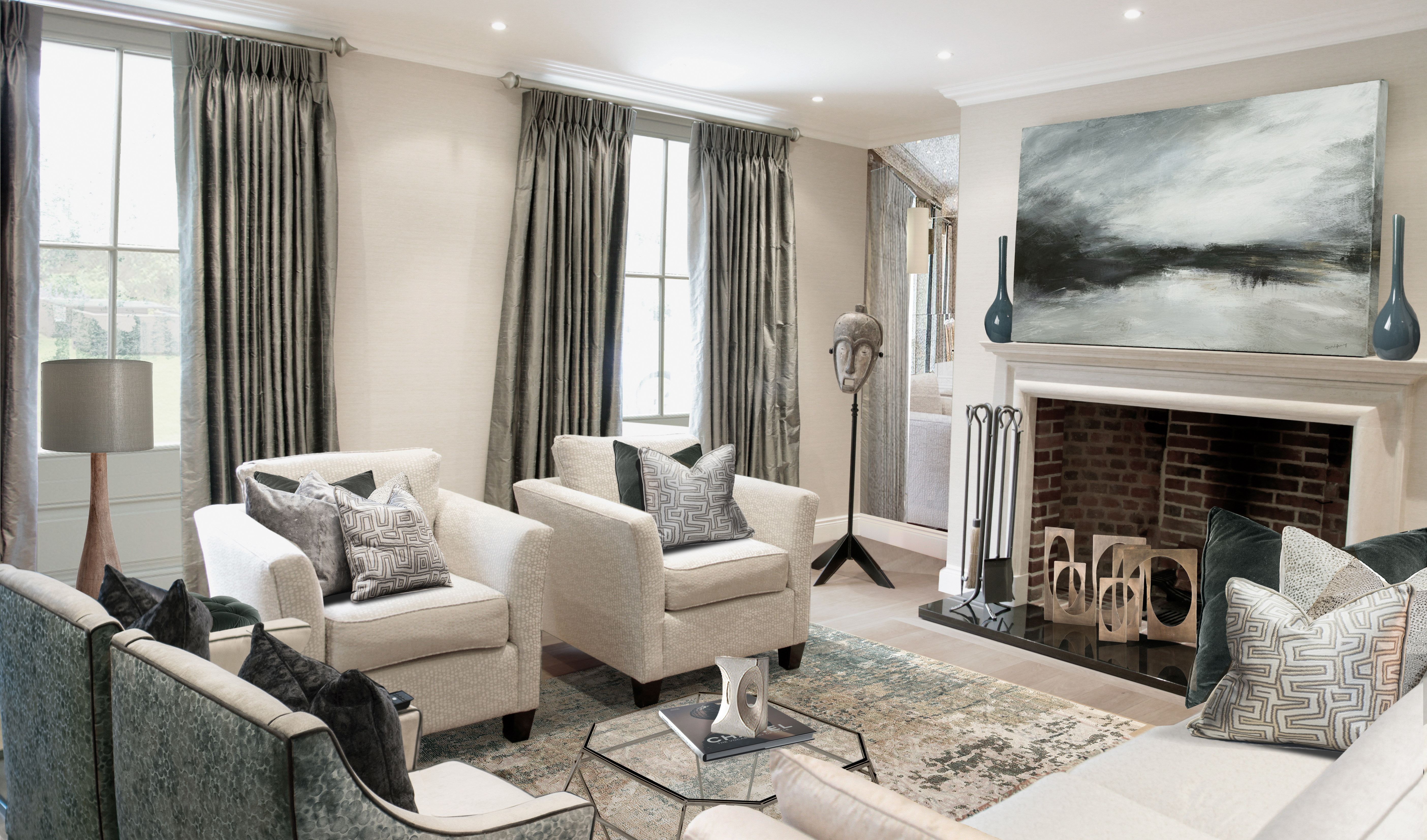 Hampshire interior design sitting room new (2)