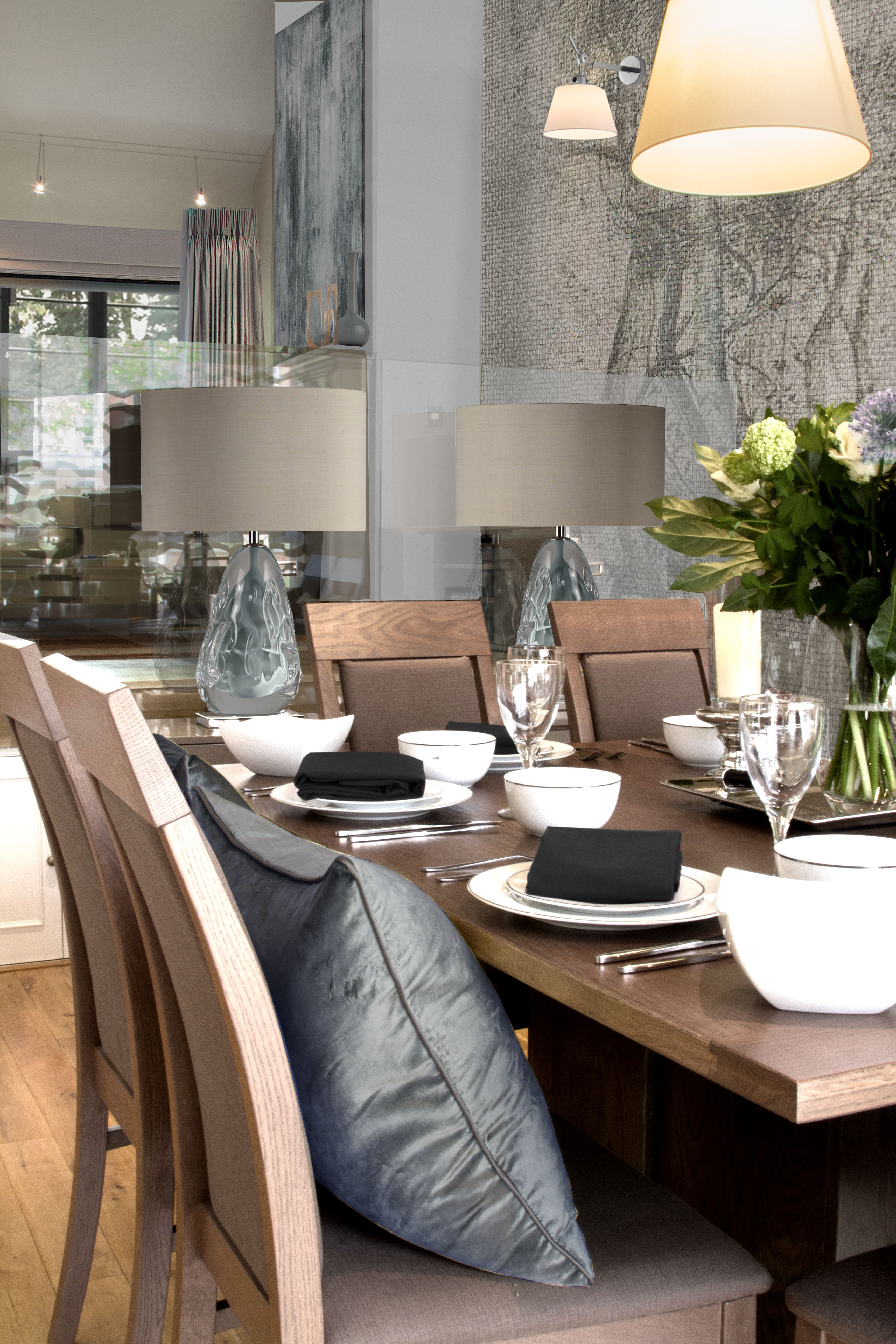 New Forest Interior Design Dining Room