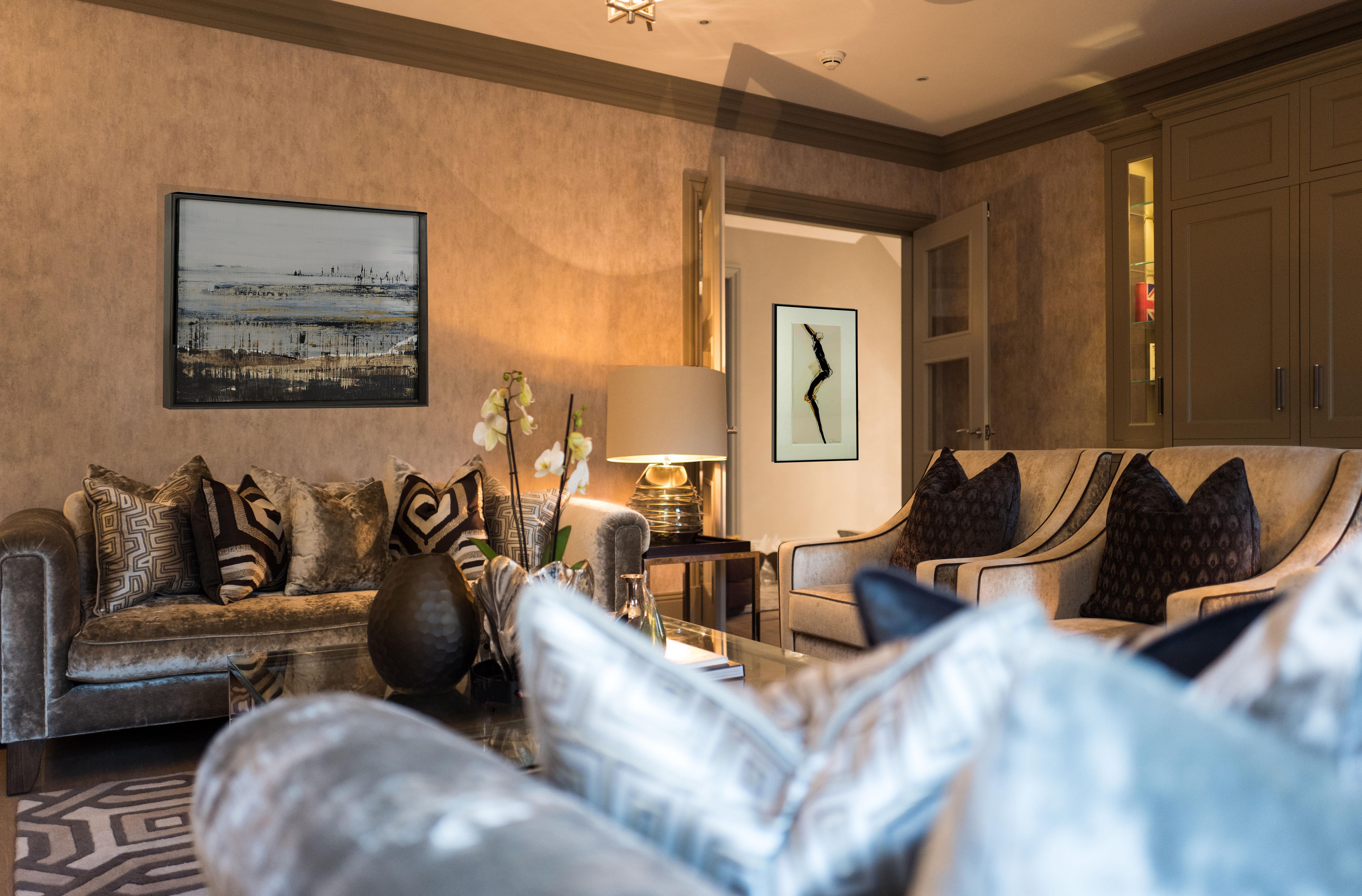 West London Interior Design Living Room