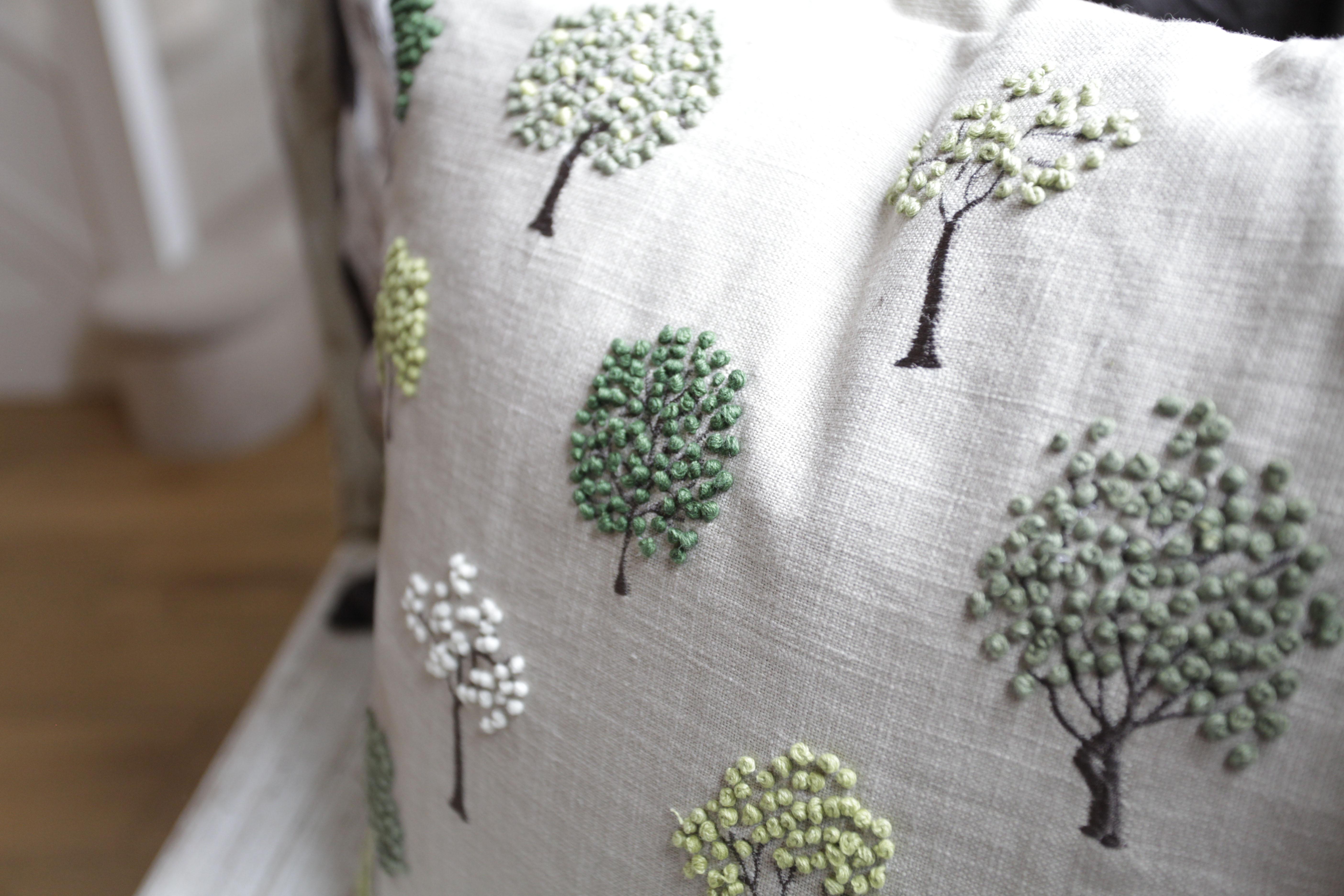 Surrey interior design cushions