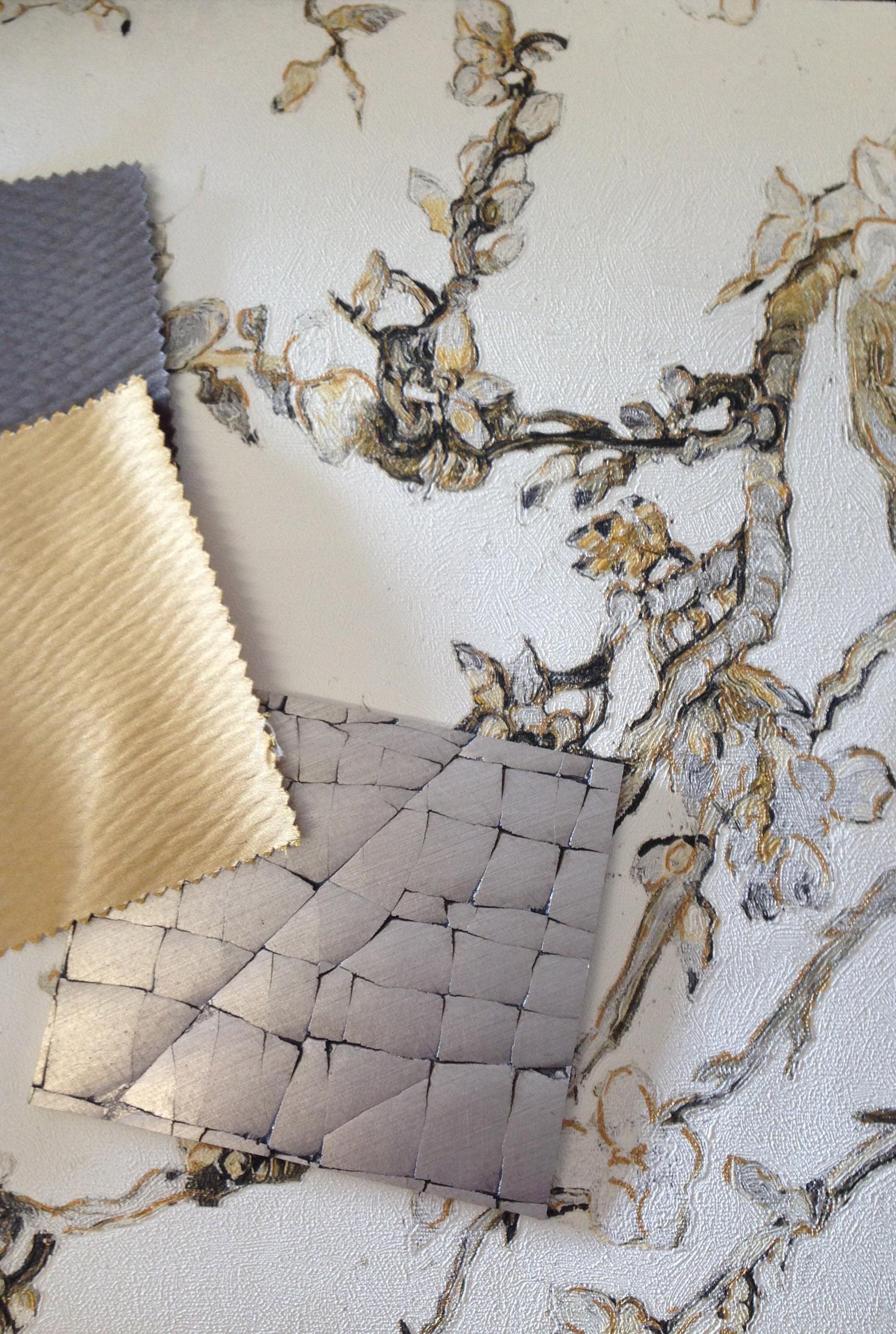 Surrey interior design bedroom storyboard