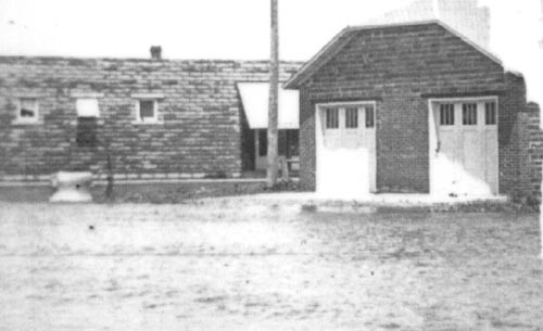 The original Porter Fire Hall  and the Berg Building on Lone Tree Stree  and Brook Avenue.
