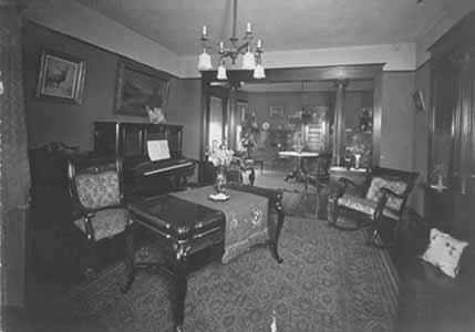 Interior of Culligan Manor
