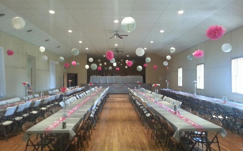 Wedding in South Room