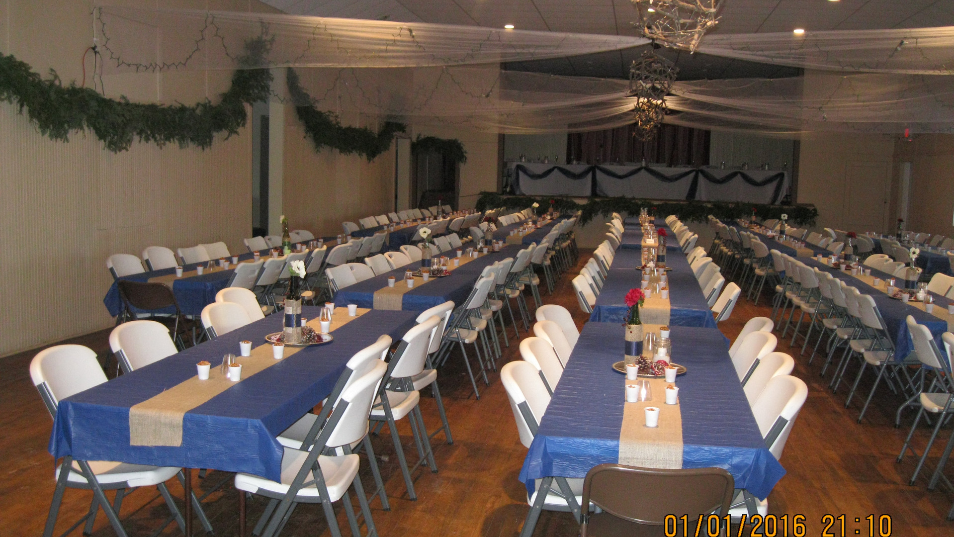 Winter Wedding in South Room