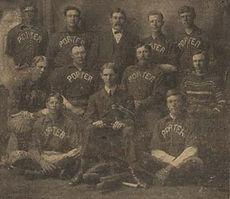 1905 Porter Baseball Team