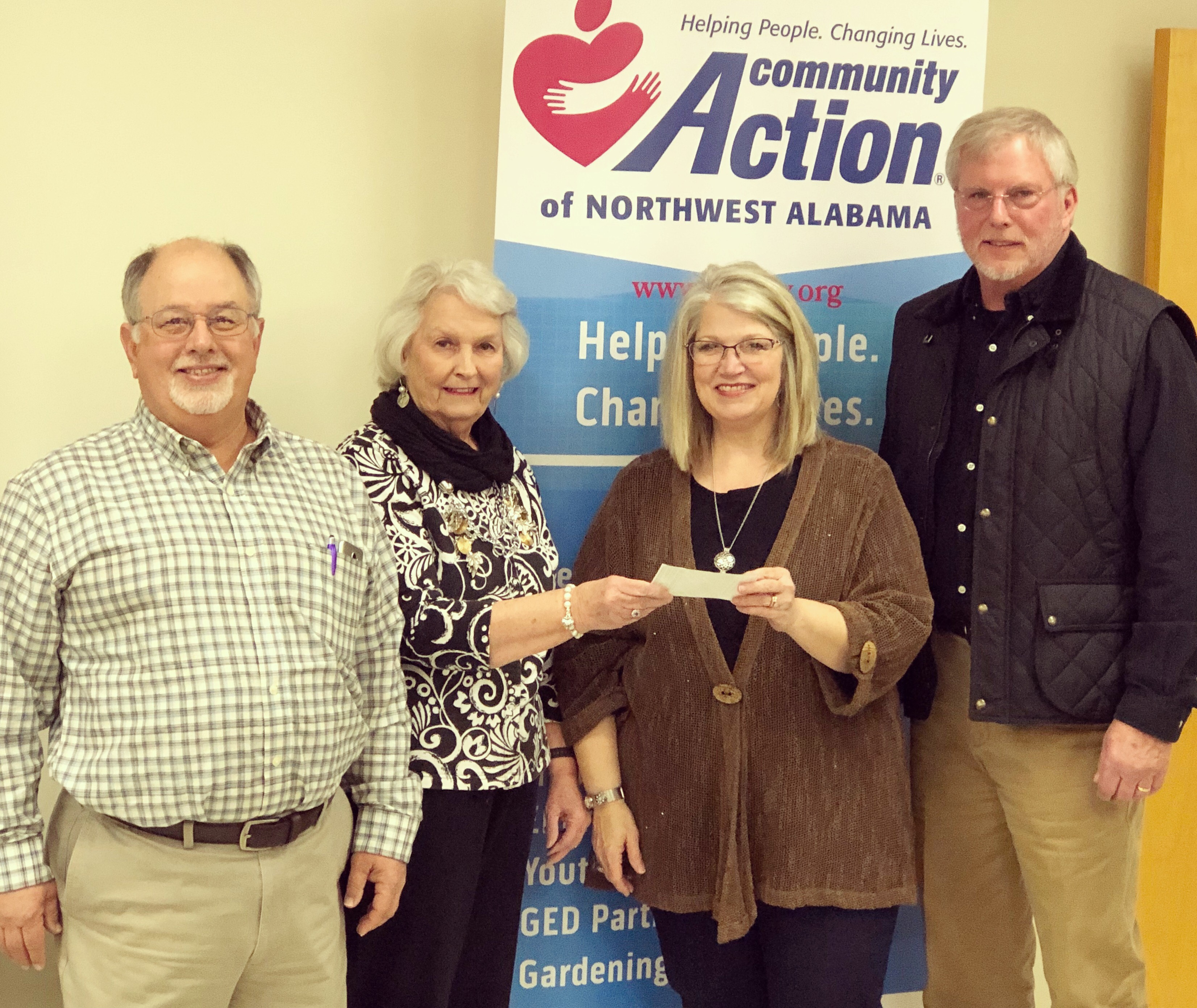 TVARA presents Donation to MOWS