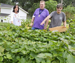 ARC of The Shoals Learns to Garden