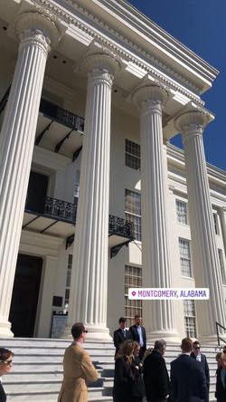Montgomery Visit with Legislators
