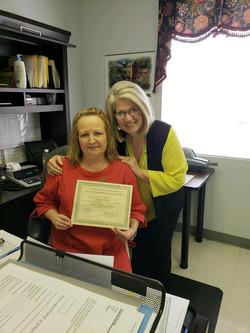 Mandy Dowdy, NCRI certification