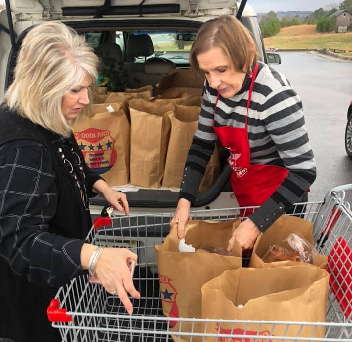Salvation Army donates Groceries for Meals