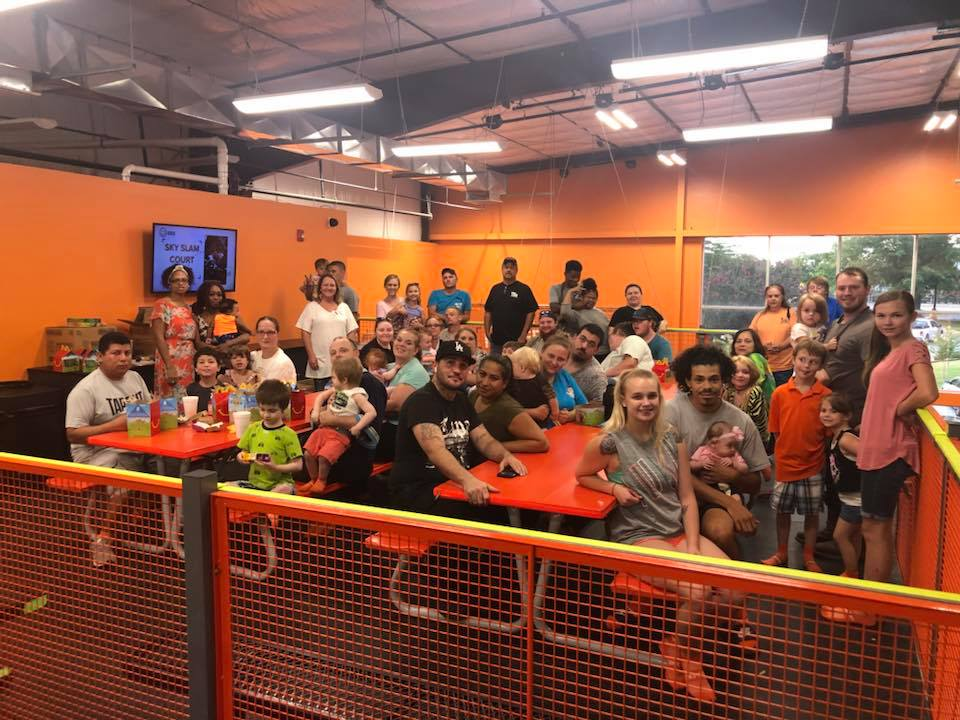 Sky Zone Parenting Skills Event