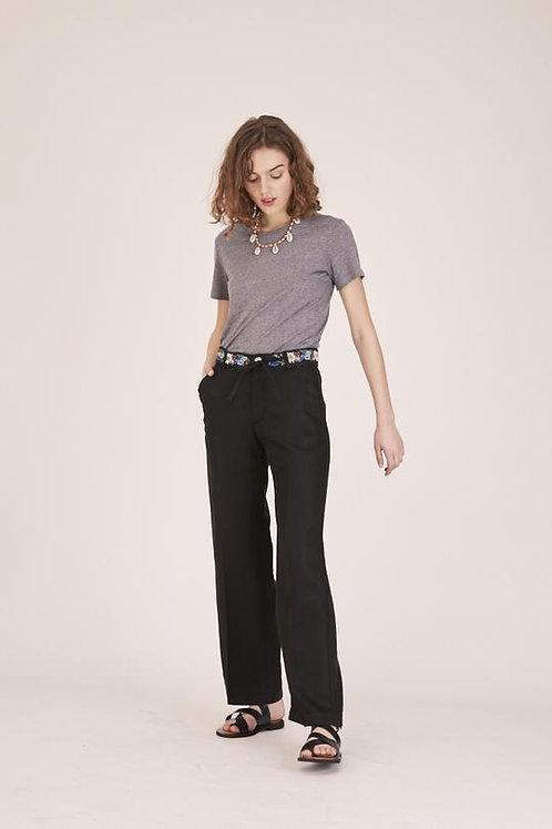 Pantalon SIMON Tencel - Noir
