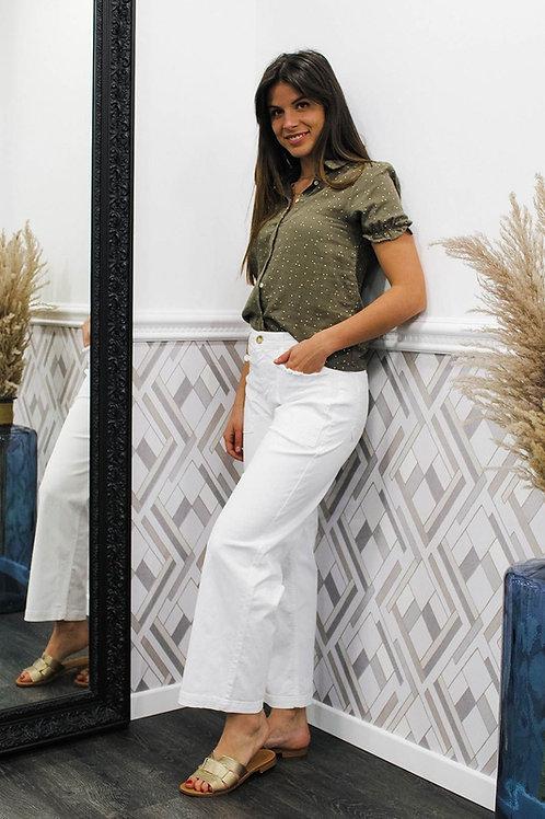 Pantalon blanc SWEETY