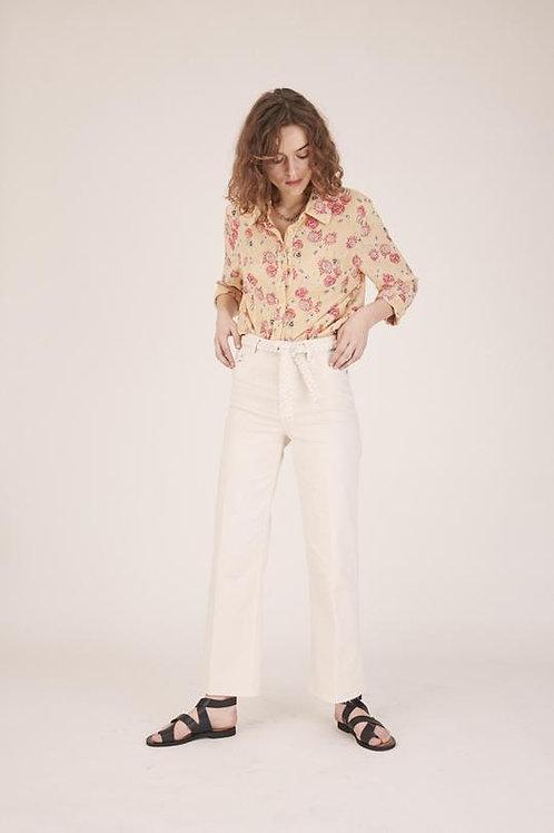Pantalon SULLY Couleur - Ecume