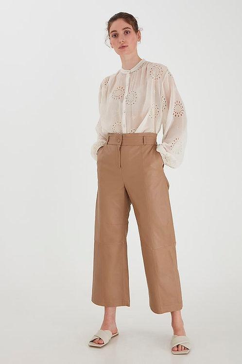 Pantalon en cuir BYDARA