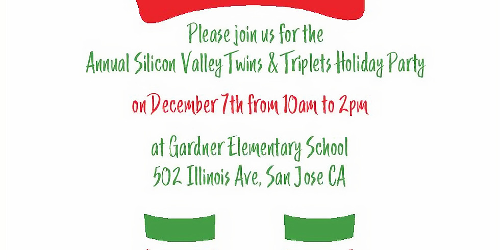 Silicon Valley Twins and Triplets Annual Holiday Party!