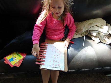 Kindergarten Hands On Addition