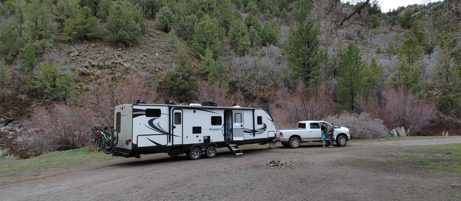 Clear Creek Canyon   UT Boondocking
