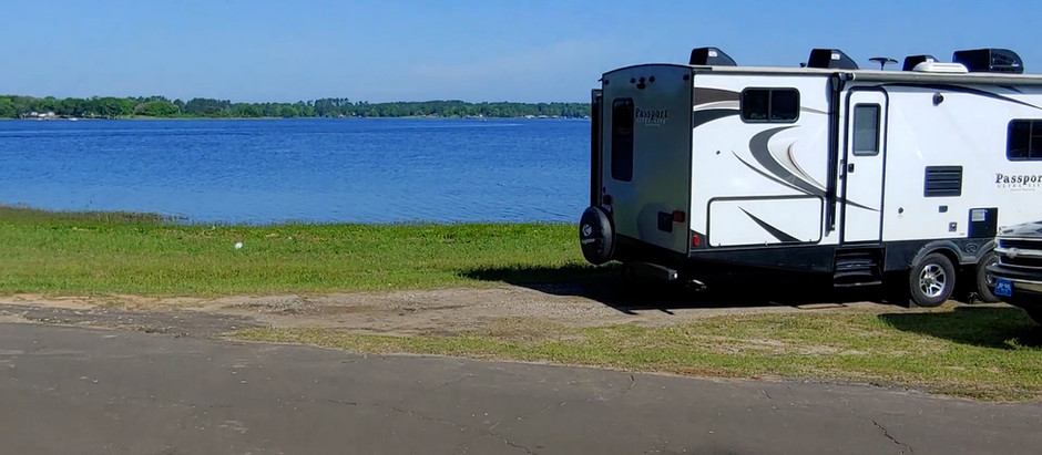 Lake Holbrook County Park   TX Boondocking