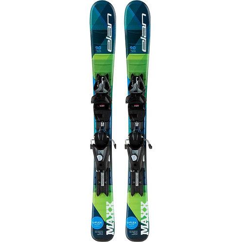 Elan Maxx w/ 4.5 QS Skis - Kids 20/21