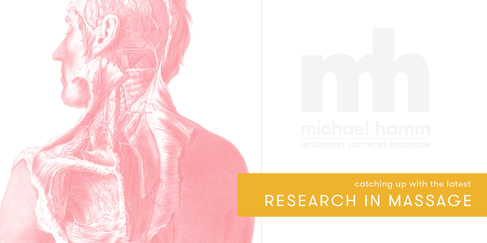 ONLINE - Catching Up with the Latest in Massage Research