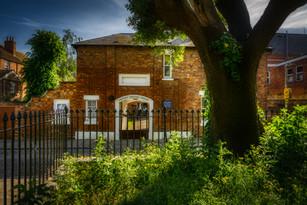Quaker gatehouse
