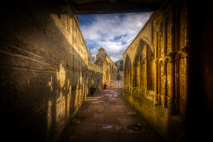 North alley Little Cloister