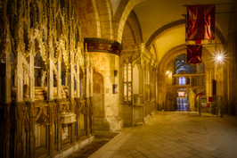 Tombs of King Edward II and Abbot Parker