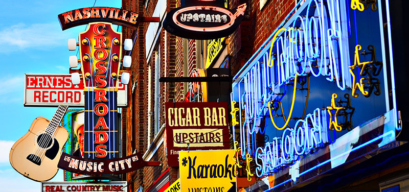Nashville has a long music tradition