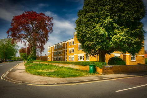Cedars apartments on site of Larkhay Villa