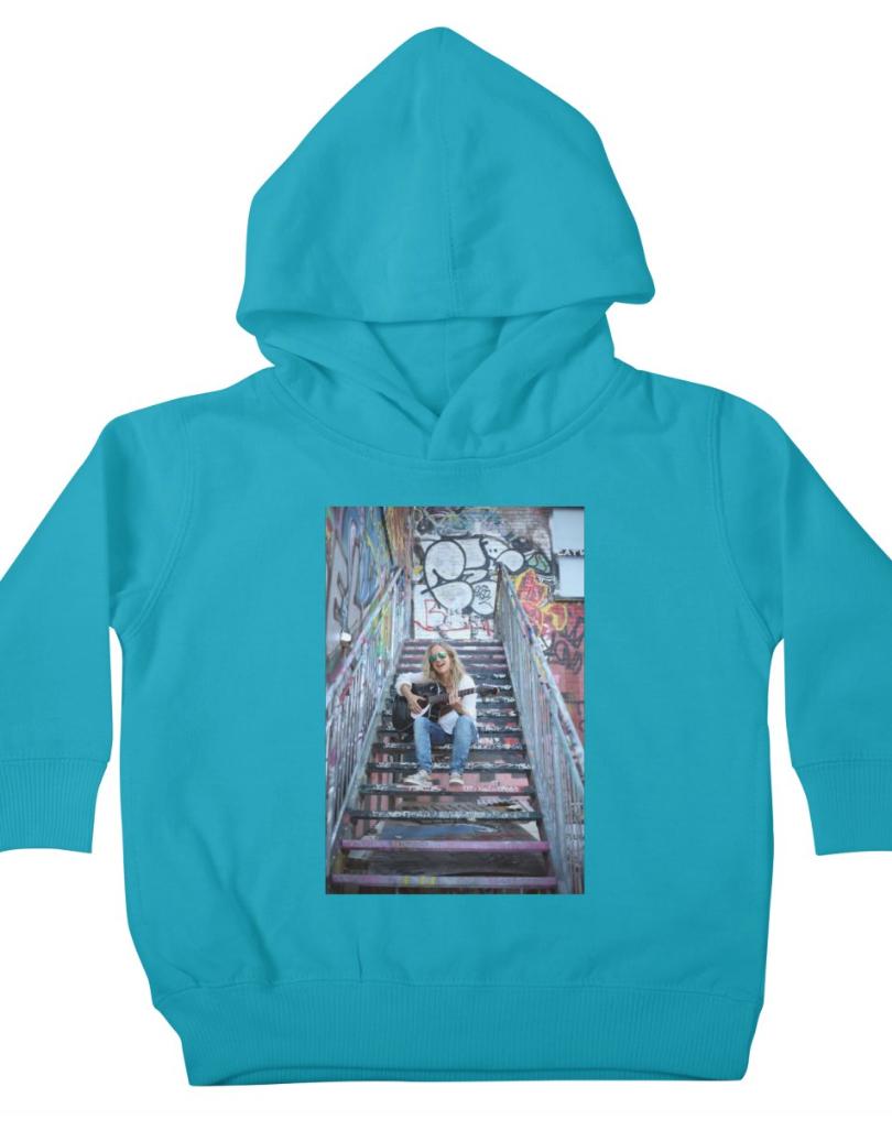 Turquoise_kids_hoodie_SongsOnTheSteps