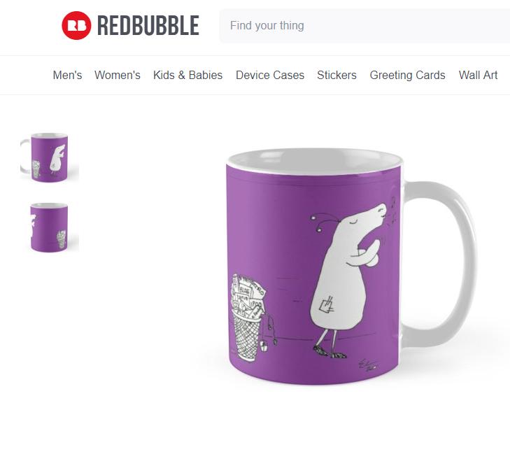 Grunk Mug Purple