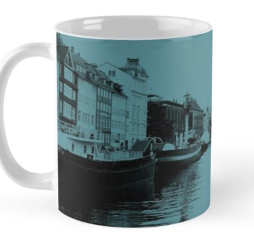 Copenhagen Teal Mug