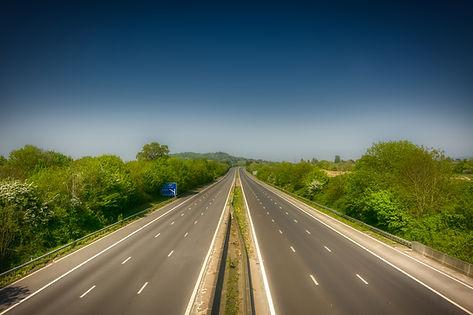 M5 motorway through Hucclecote