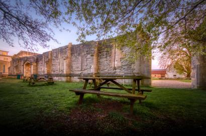 Tythe barn remains