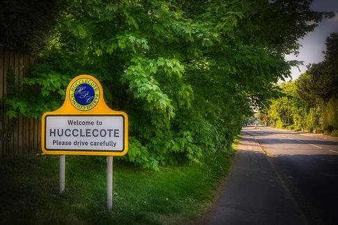 Hucclecote parish boundary