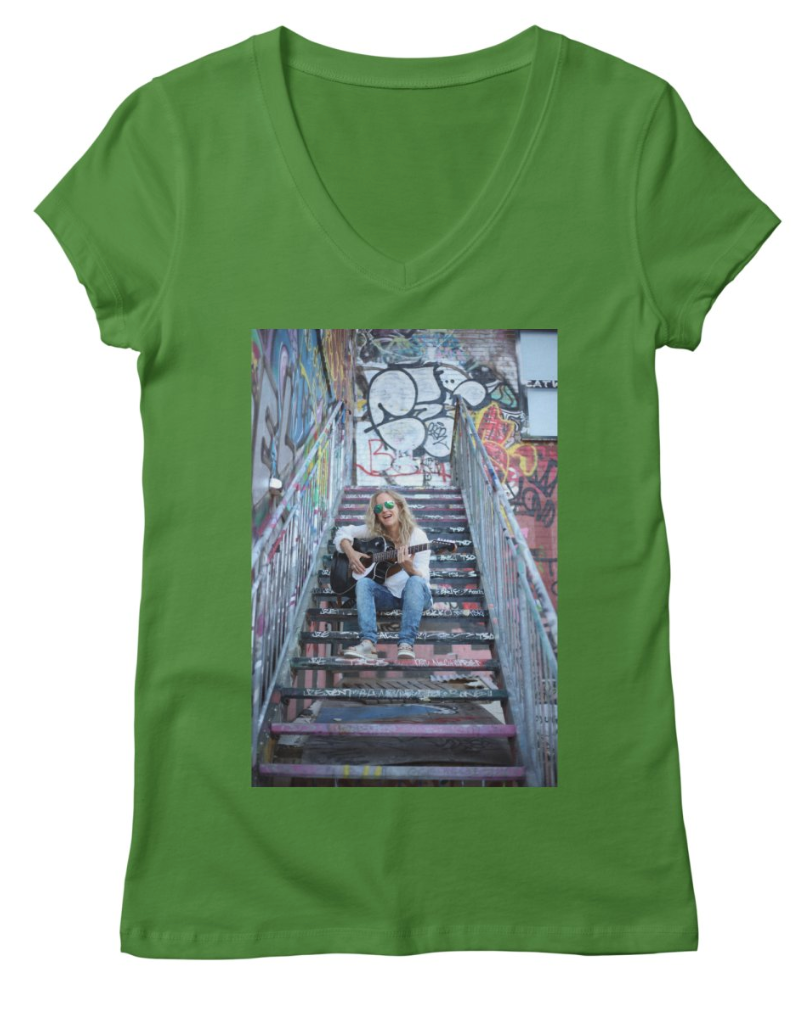 Crazy_green_tee_SongsOnTheSteps