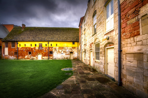 Cloister view south