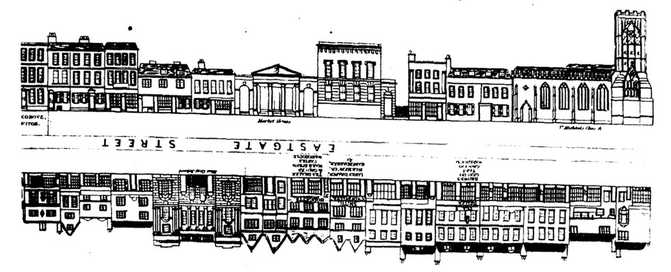 Eastgate streetscape 1841