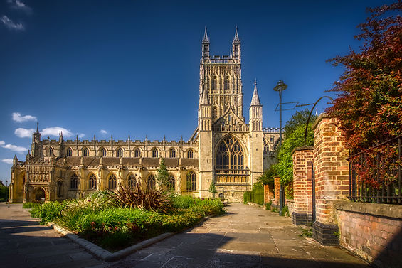 11th-century Gloucester Cathedral (grade I)