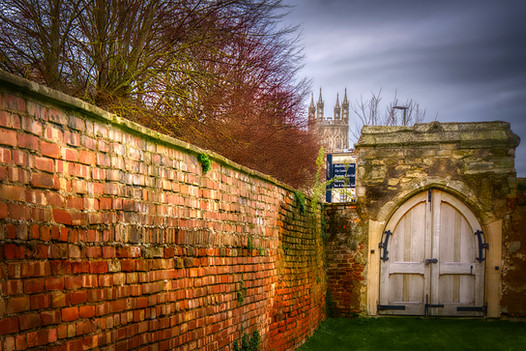 Post-monastic wall & gate