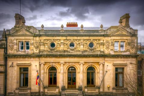 Guildhall upper storeys