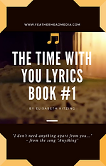 Thecover of Time With You #1 (lyrics book), based on the worship video