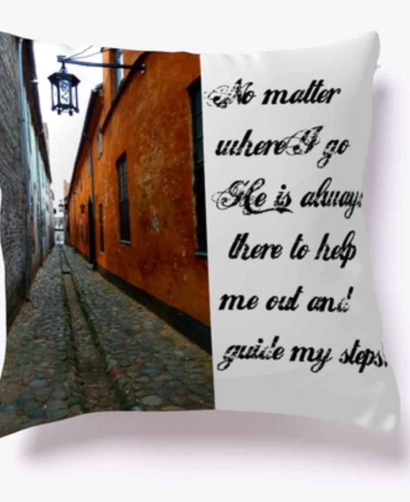 No matter where Pillow