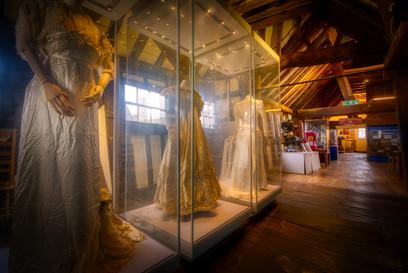 Wedding dress exhibits