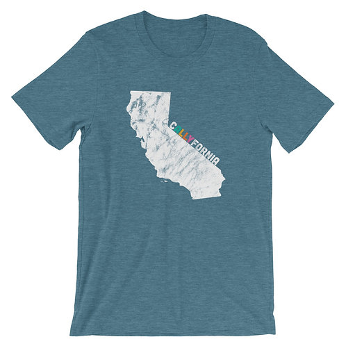 CA (CALLYFORNIA) Short-Sleeve Gender Inclusive T-Shirt