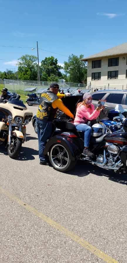 Shaka and wife - NABSTMC Ride for Justic